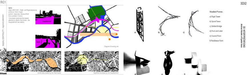 Architecture School Portfolio for admission